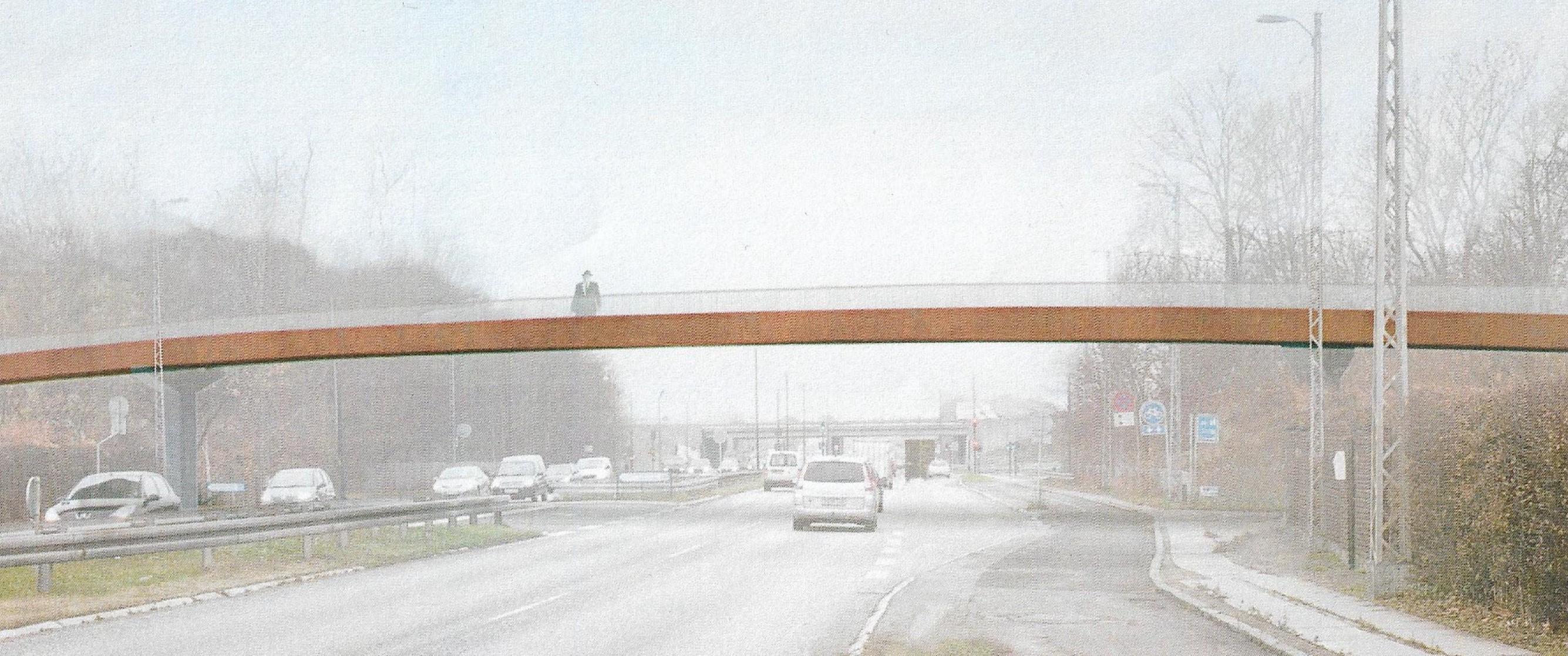 Ny bro over Jyllingevej
